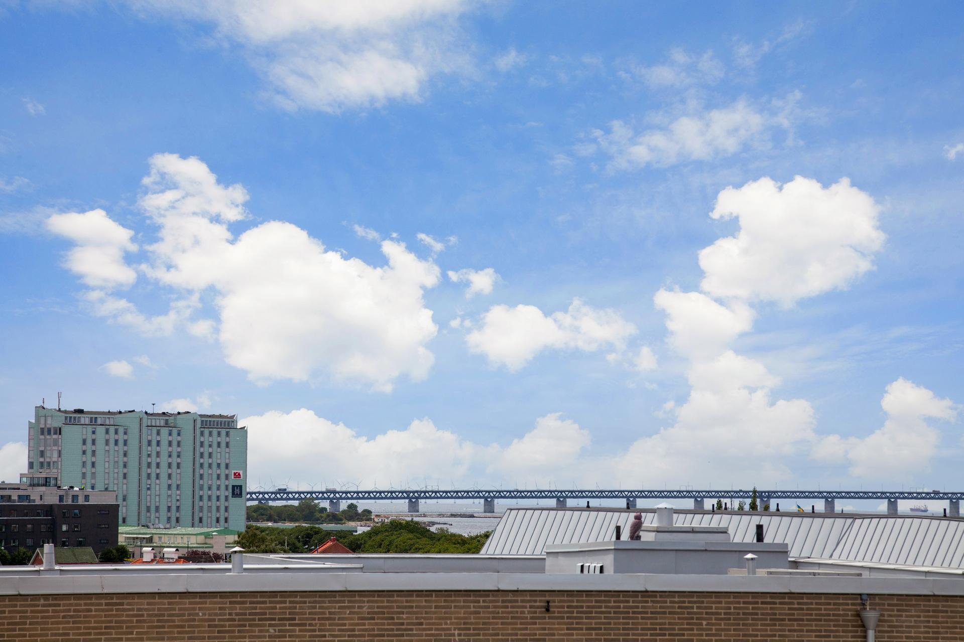 ... åt andra hållet sett med Öresundsbron i sikte