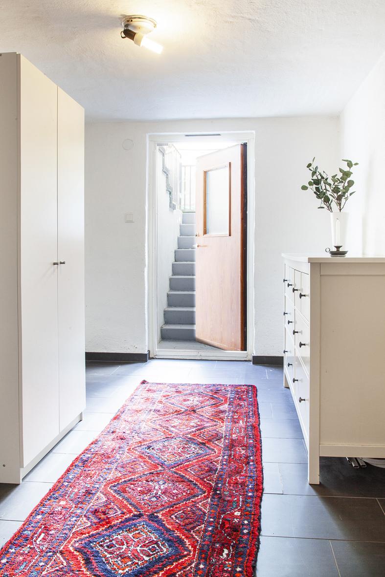 Entrén till källarvåningen