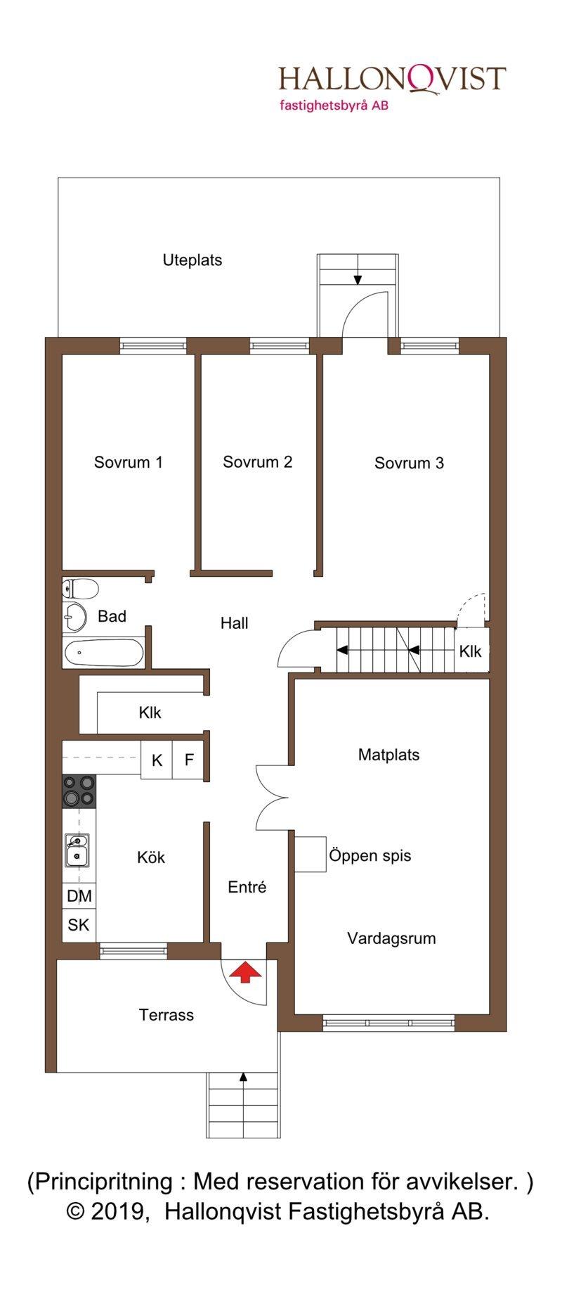 Planritning - bottenvåning